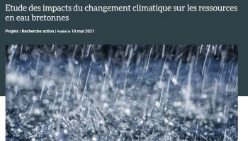Publication du guide méthodologique du projet Democlim, étude sur l'impact du changement climatique sur la ressource en eau