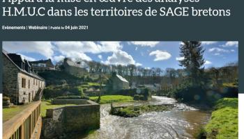 Appui à la mise en œuvre des analyses H.M.U.C dans les territoires de SAGE bretons