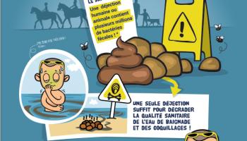 Campagne de sensibilisation pour la reconquête de la qualité microbiologique des eaux littorales